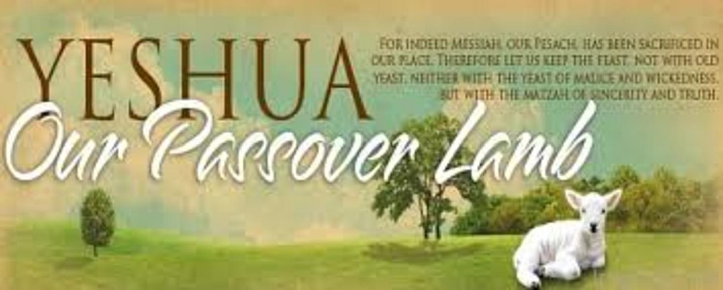 Passover is about Yeshua